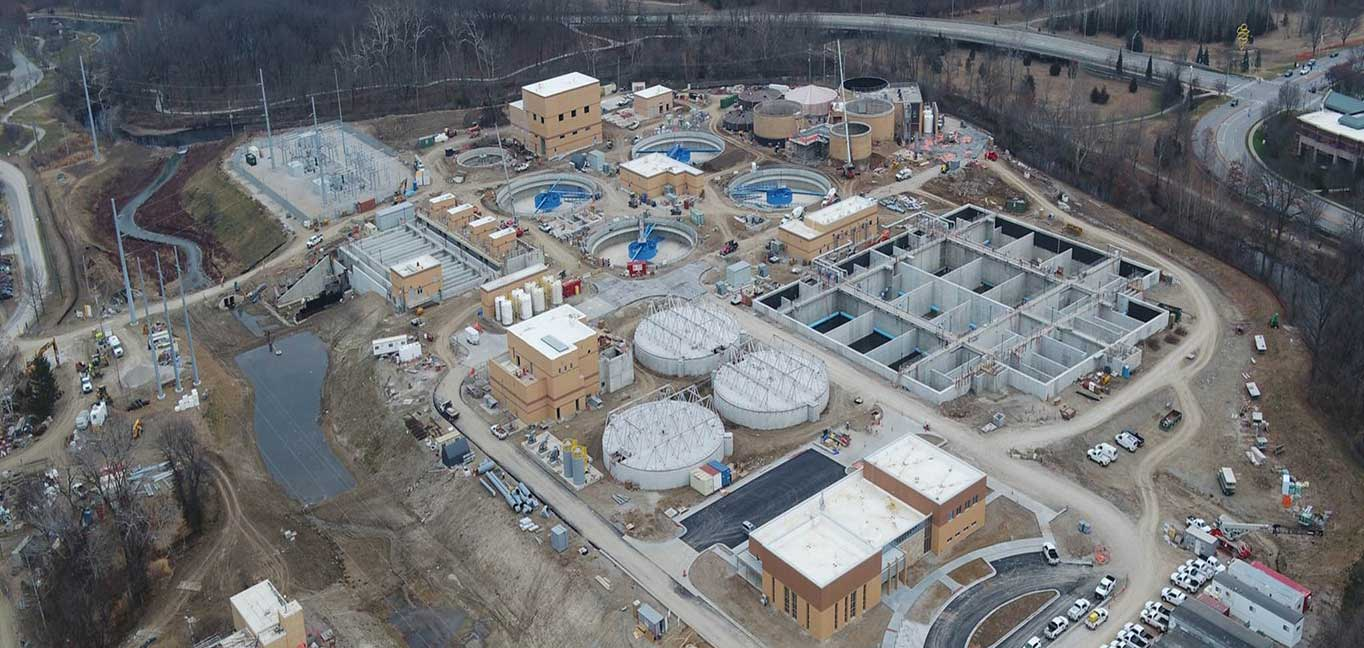 JOCO Tomahawk Creek - Wastewater job site