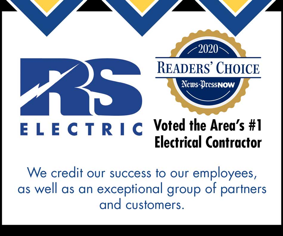 RS Electric-Area's Favorite Electrical Contractor 2020